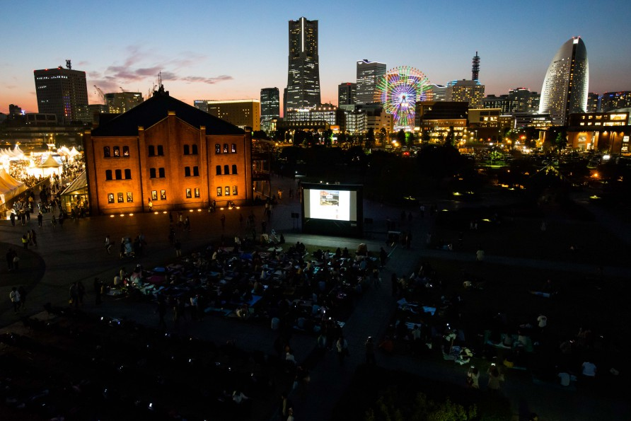 Open Air Cinema 2017, YOKOHAMA RED BRICK WAREHOUSE