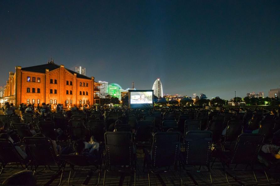 Open Air Cinema 2017, YOKOHAMA RED BRICK WAREHOUSE