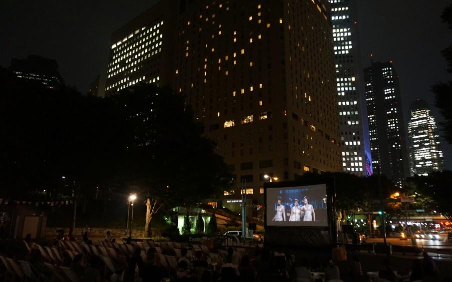 SCREEN @ SHINJUKU CENTRAL PARK 新宿中央公園野外映画